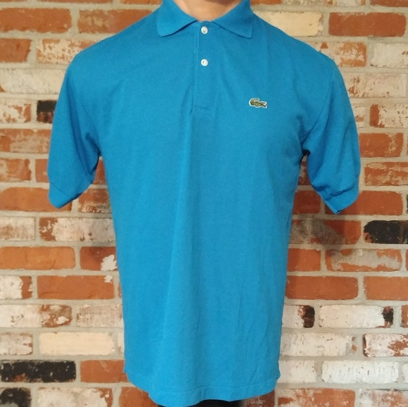 31f9c080 Lacoste Shirts | Vintage Chemise Polo Shirt Made In France | Poshmark